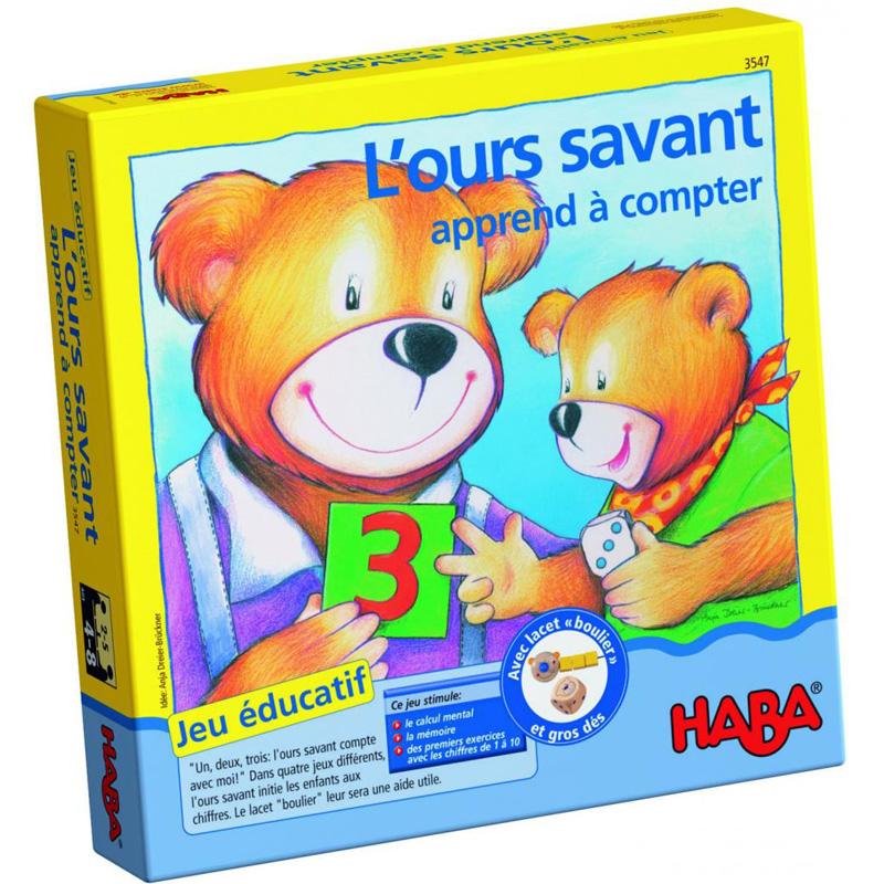 Tro choi gau con hoc toan Haba HB3151