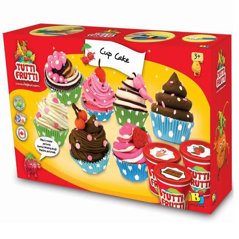 Bot nan lam banh cupcake Tutti Frutti
