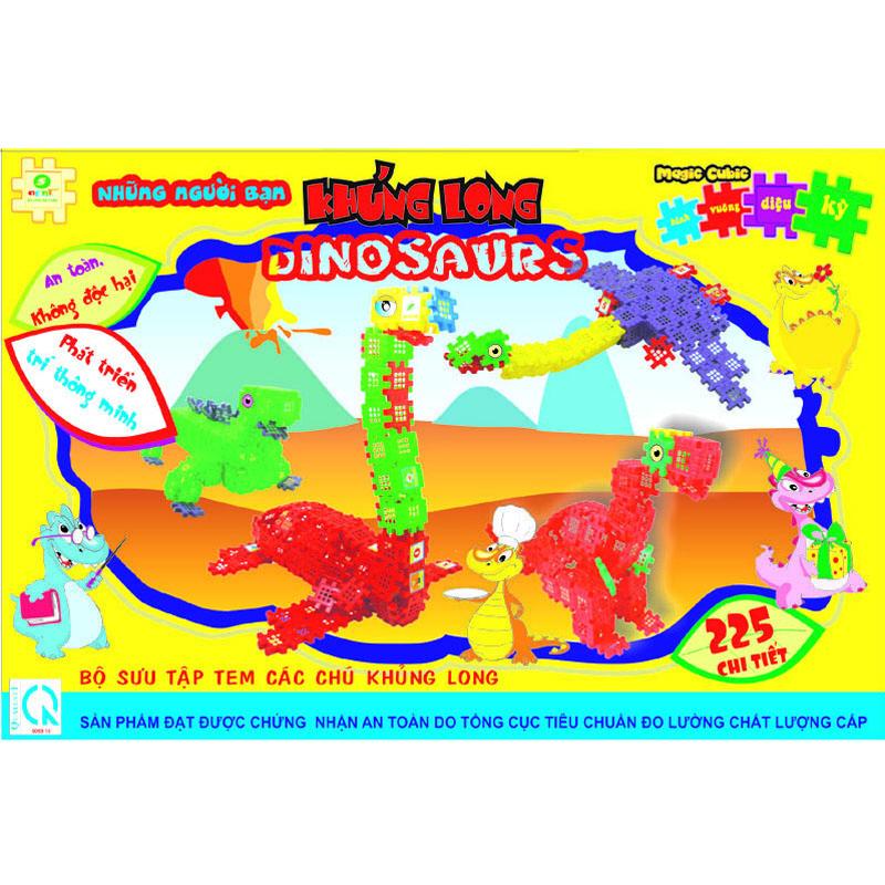 Xep hinh sang tao - Khung long Dino