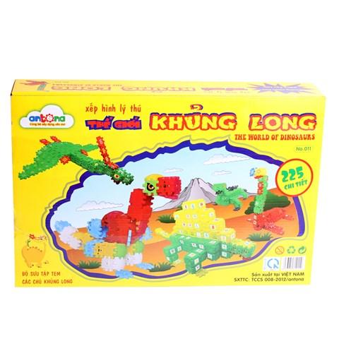 Hinh vuong dieu ky - The gioi khung long