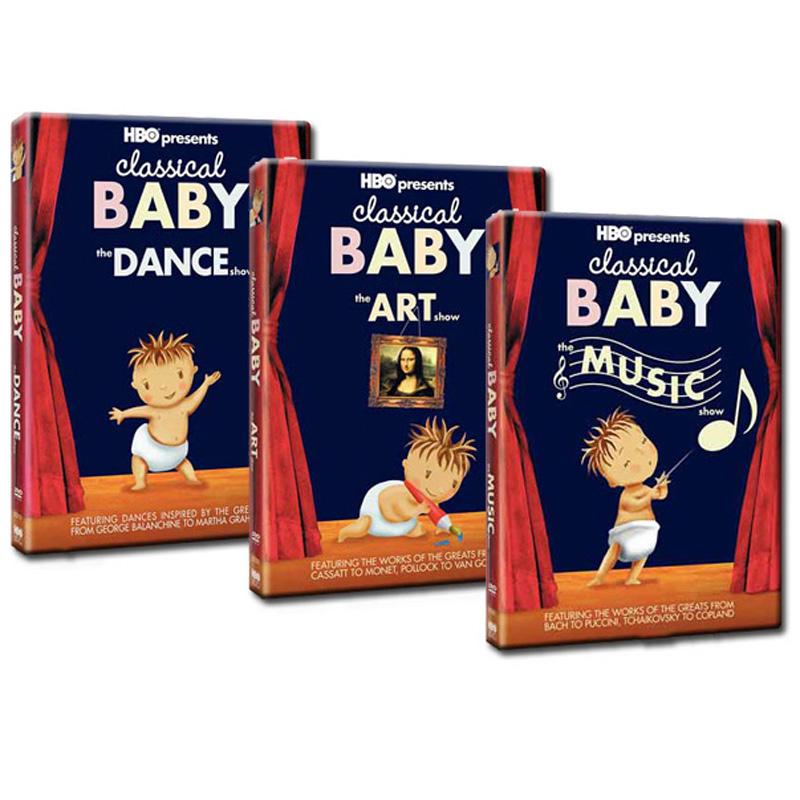 Bo 3 DVD Classical Baby