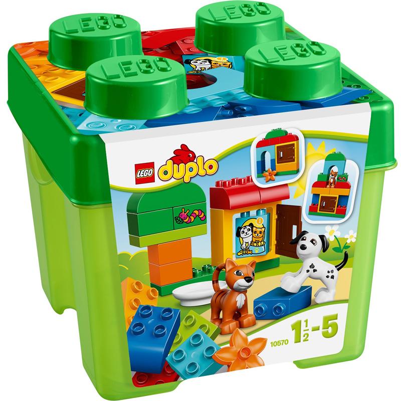 Do choi Lego Duplo 10570 - Hop qua cun va meo con