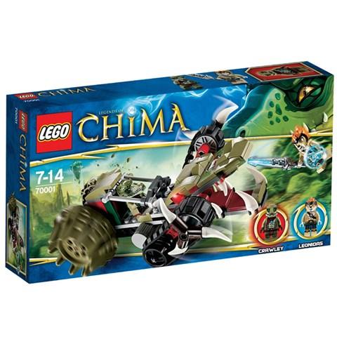 Do choi LEGO Chima 70001 Crawley's Claw Ripper