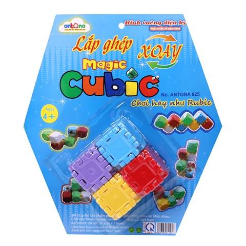 Lap ghep xoay Magic Cubic Antona 025