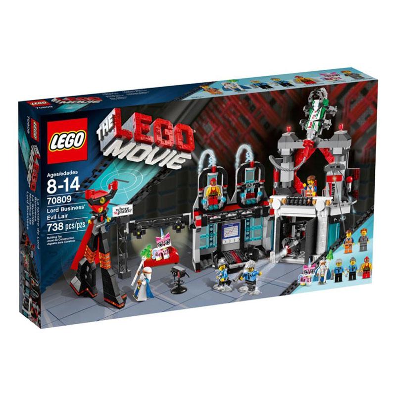 Do choi Lego 70809 - Van phong cua chua te xau xa