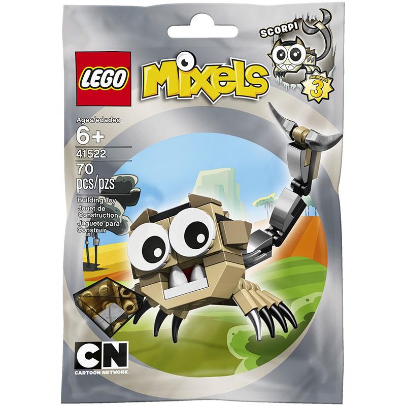 Mo hinh LEGO Mixels Sinh vat Scorpi - 41522