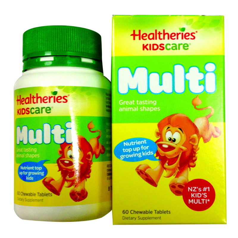 Vitamin Healtheries Kidscare Multi – Vitamin tong hop