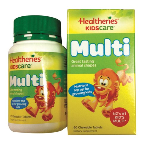 Vitamin Healtheries Kidscare Multi – Vitamin tong hop