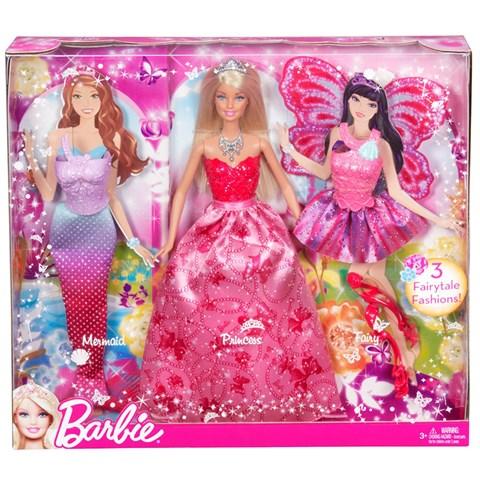 Bo san pham bup be cong chua da vu Barbie X9457