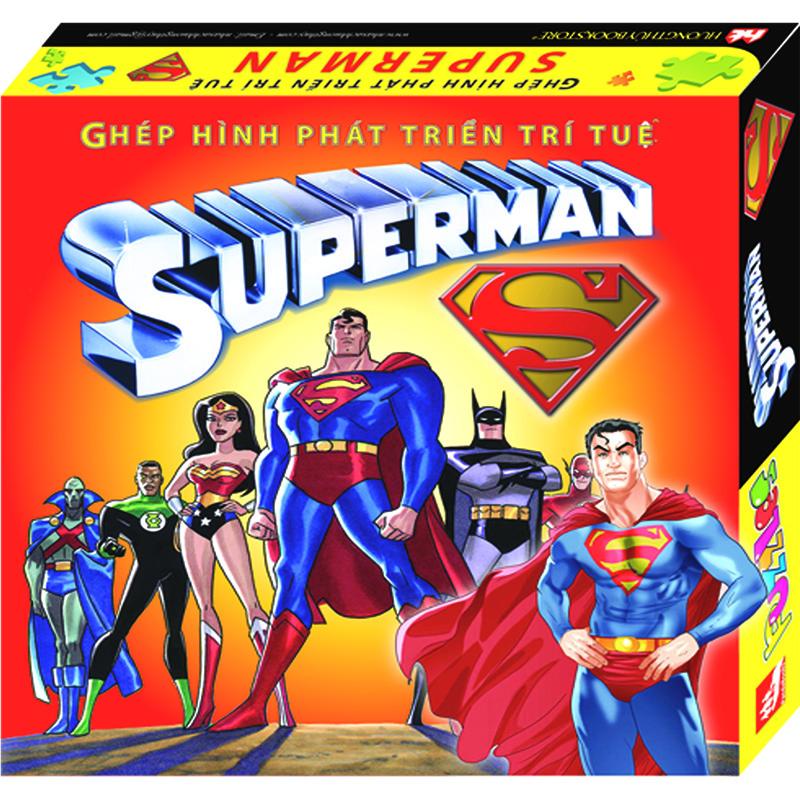 Ghep hinh phat trien tri tue - Superman