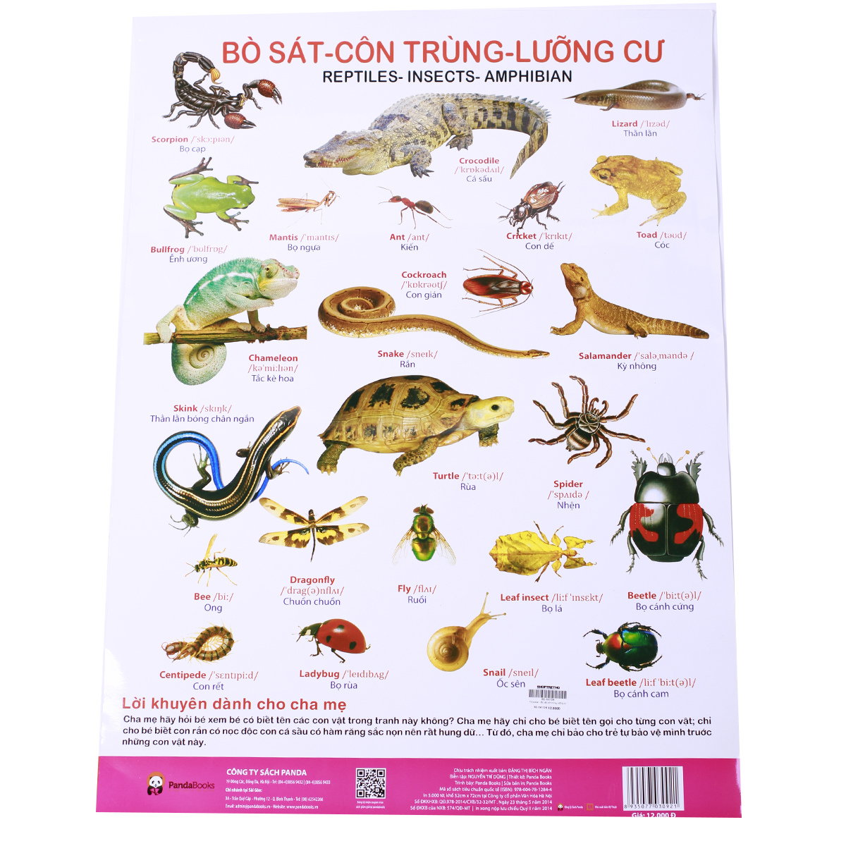 To poster - Bo sat, con trung, luong cu