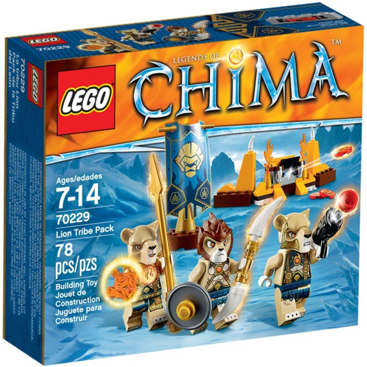 Do choi Lego 70231 – Bo toc ca sau