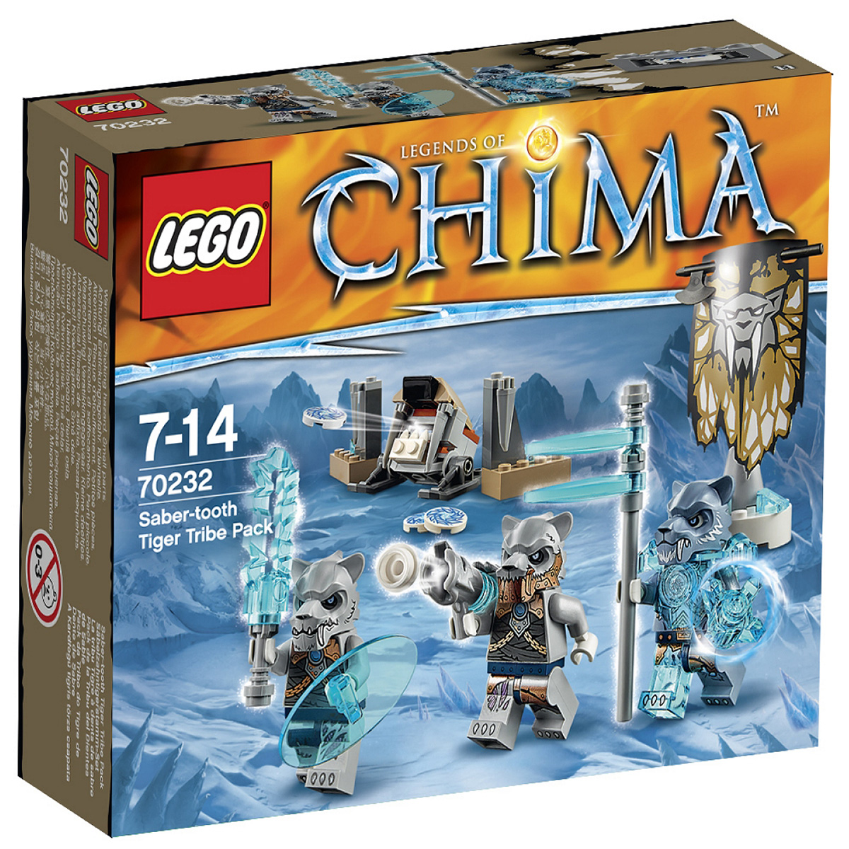 Do choi Lego 70232 – Bo toc ho nanh kiem