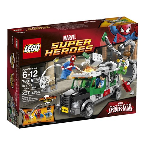 Do choi Lego Super Heroes 76015 - Doc Ock cuop xe cho tien