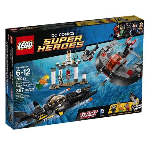 Do choi Lego 76027 – Cuoc tan cong duoi day dai duong