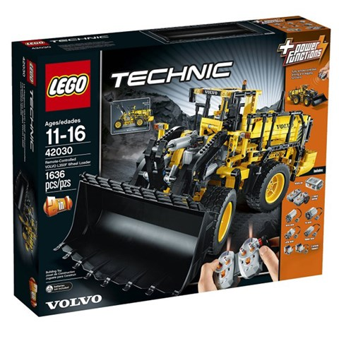 Do choi Lego Technic 42030 - xep hinh xe dieu khien VOLVO L350F