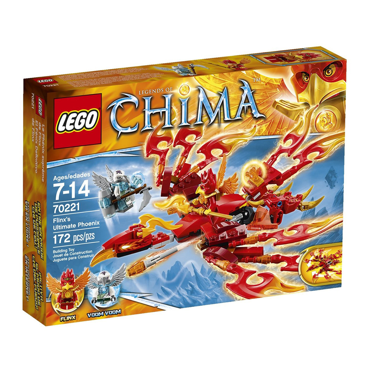 Do choi Lego 70221 – Co may phuong hoang cua Flinx