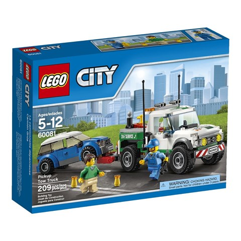 Do choi Lego 60081 – Xe ban tai cuu ho