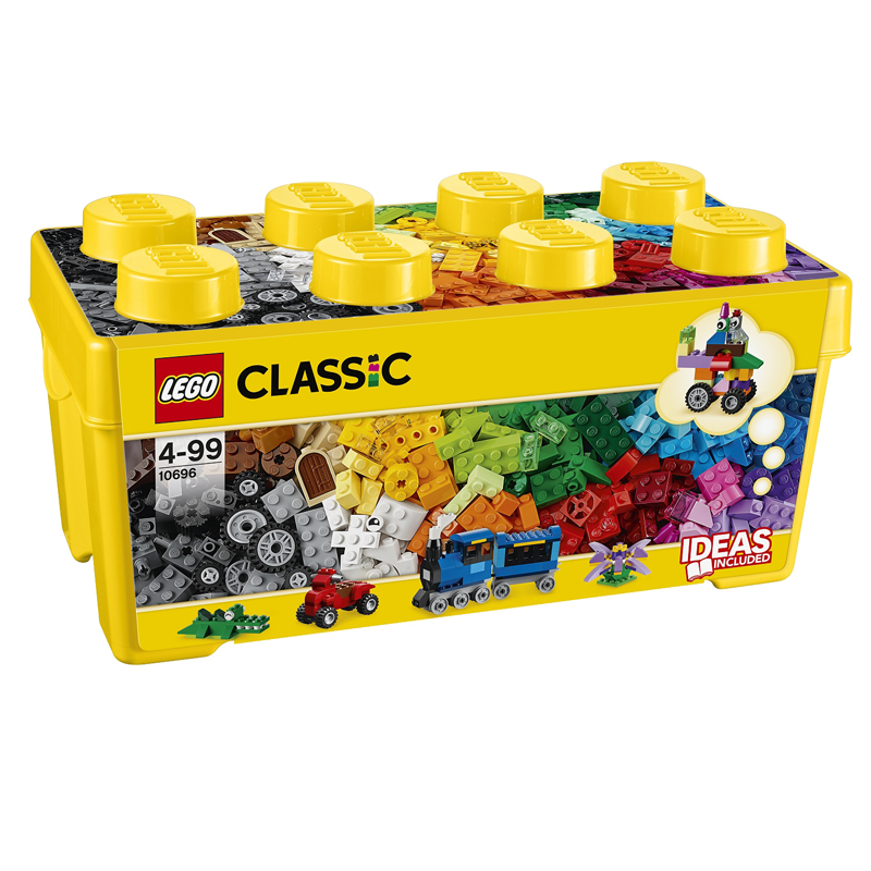 Do choi lego Classic 10696 - Thung gach trung sang tao