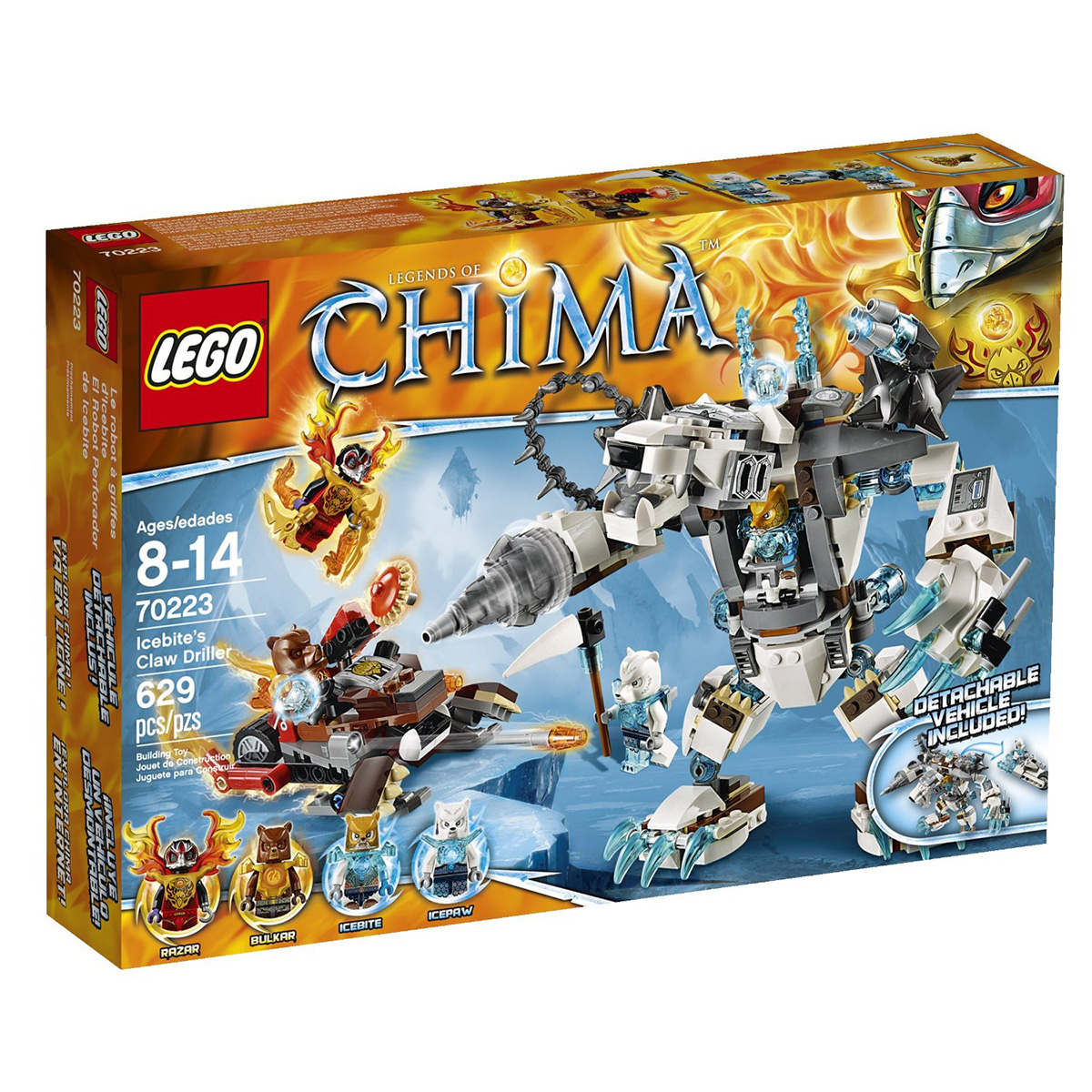 Do choi Lego 70223 – May khoan bang gia