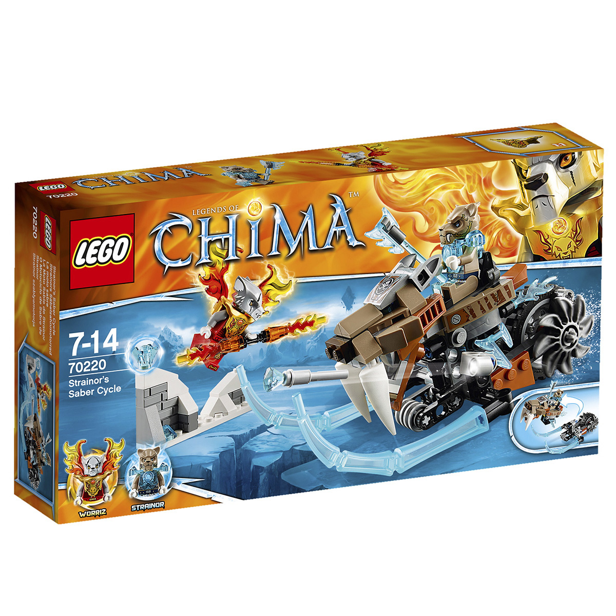 Do choi Lego 70220 – Xe nanh kiem cua Strainor