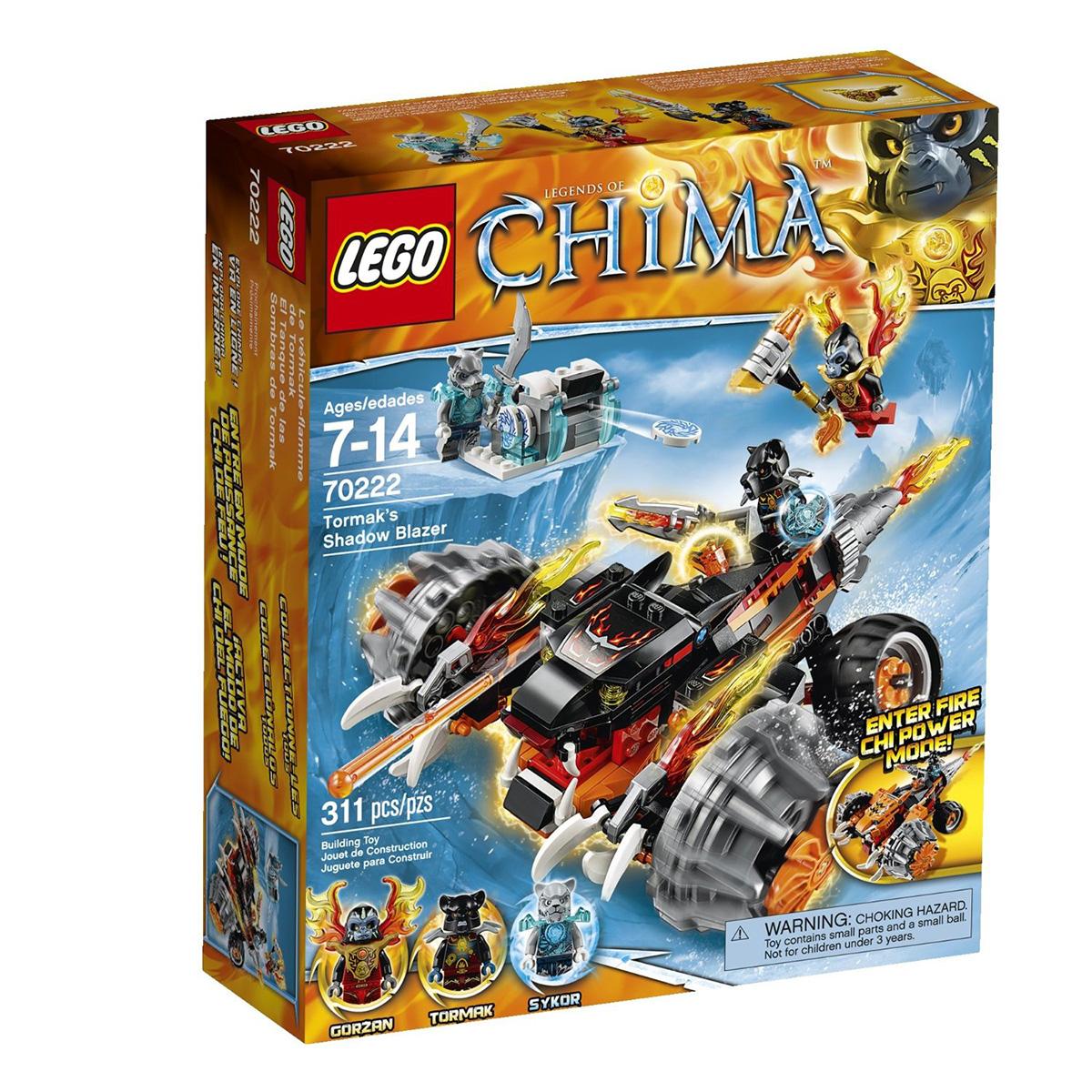 Do choi Lego 70222 – Xe chien dau cua Tormak