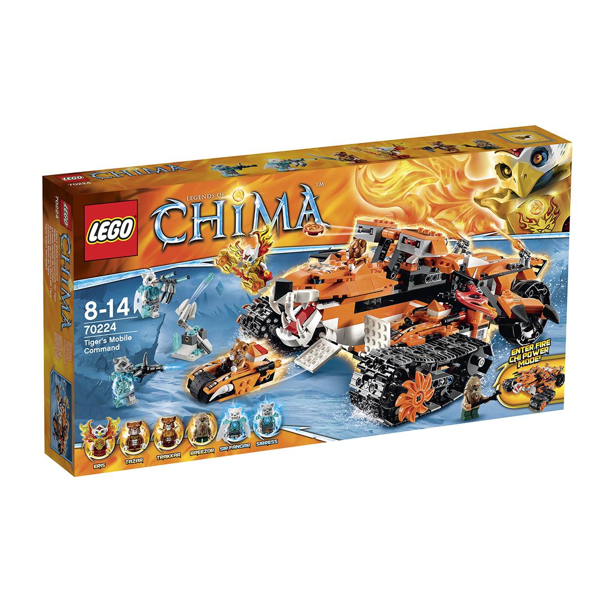 Do choi Lego 70224 – Biet doi dong co ho