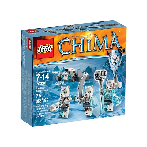 Do choi Lego 70230 – Bo toc gau trang