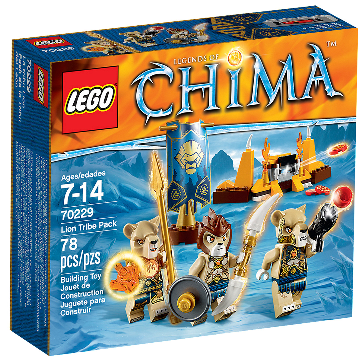 Do choi Lego 70229 – Bo toc su tu