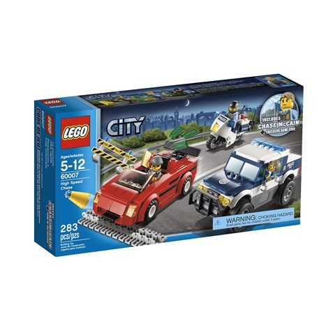 Do choi Lego 60070 – Ruot duoi dam lay