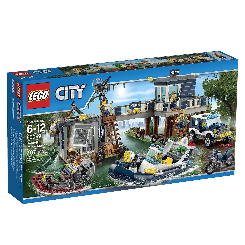 Do choi Lego 60069 – Tram canh sat dam lay dam lay