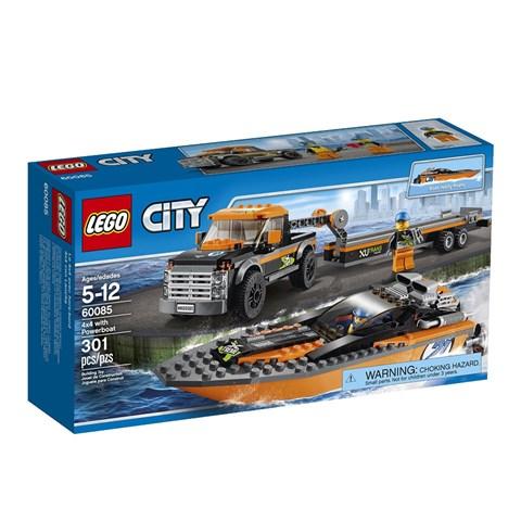 Do choi Lego 60085 – Xe keo va cano