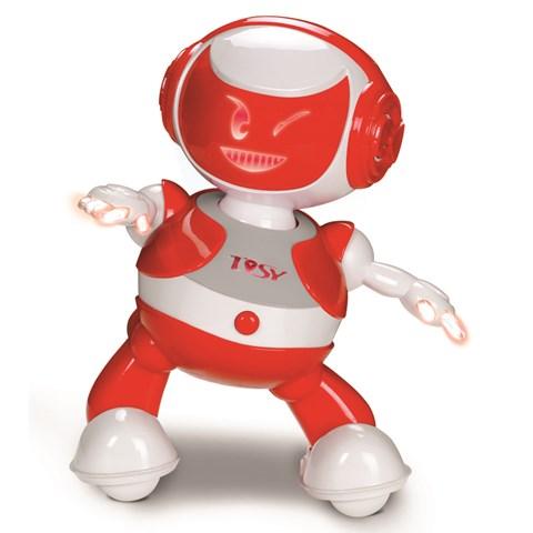 Do choi robot Discorobo phien ban 2014 don mau Do
