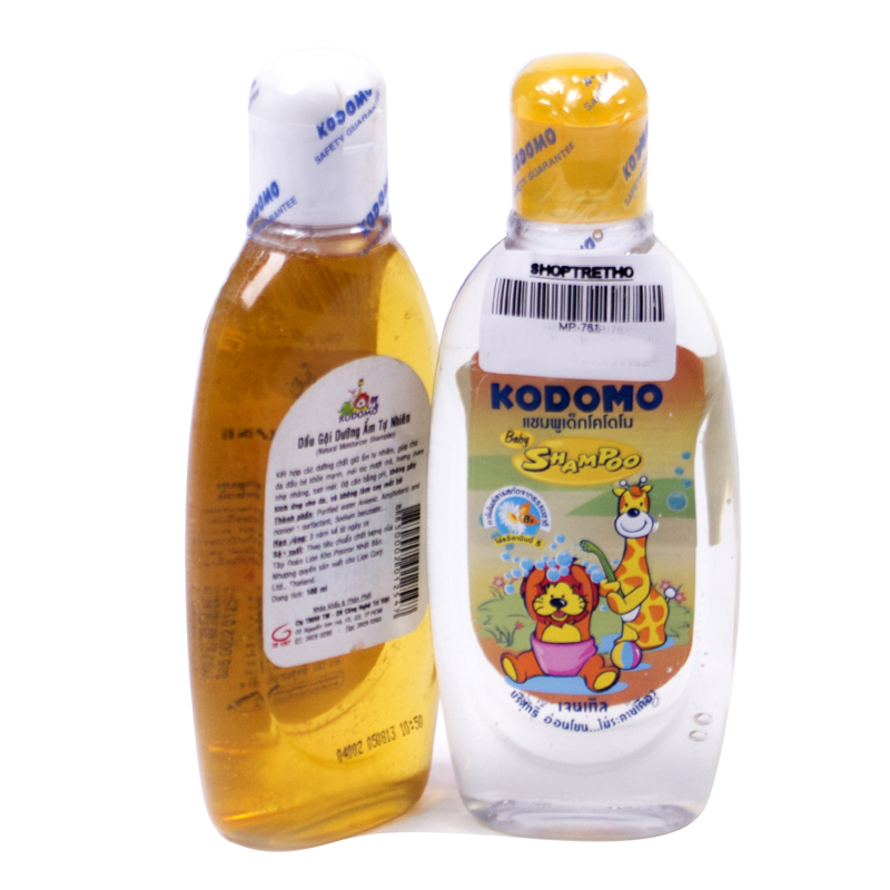 Dau goi giu am Kodomo 100ml