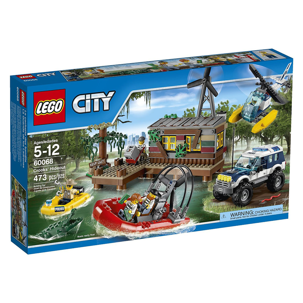 Do choi LEGO City - Hang o toi pham 60068