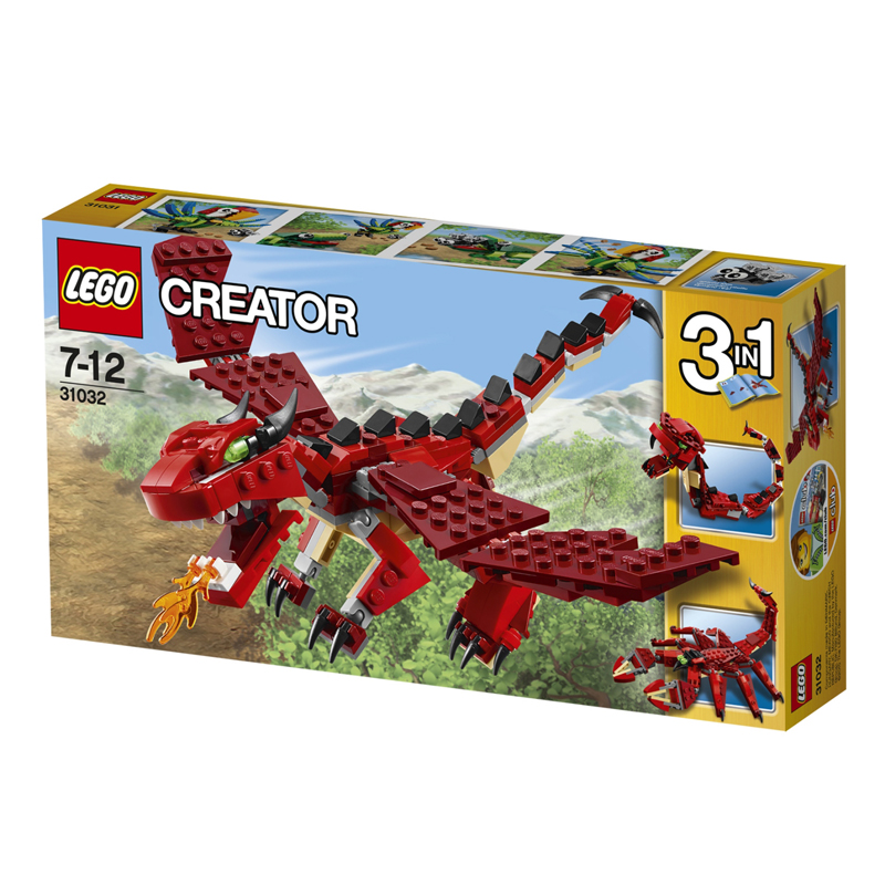 Do choi lego 31032 - Sinh vat huyen thoai