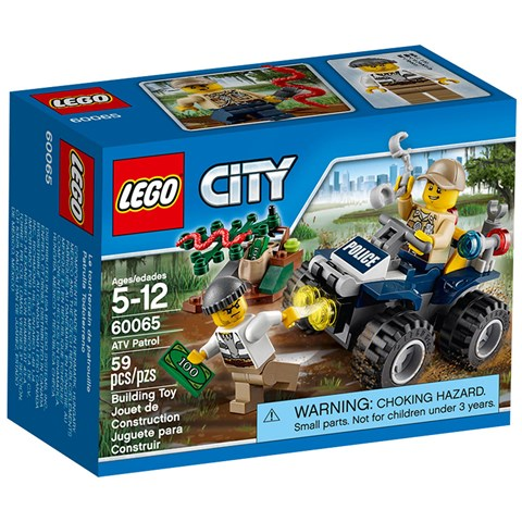 Do choi LEGO 60065 - Xe dia hinh 4 banh