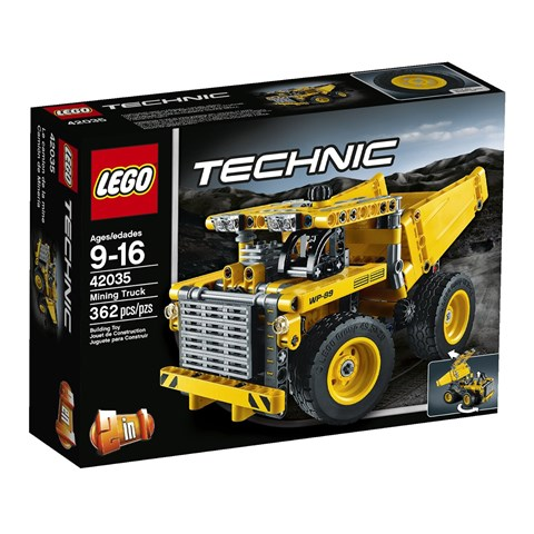 Do choi Lego 42035 - Xe tai ham mo