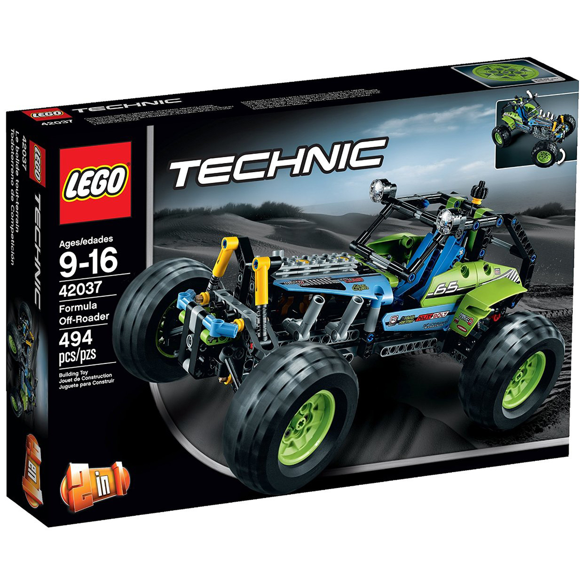 Do choi Lego 42037 - Xe the thao dia hinh