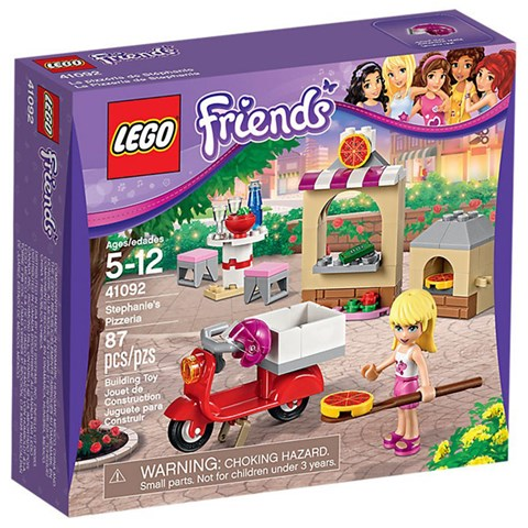 Do choi Lego 41092 -  Cua hang banh pizza cua Stephanie