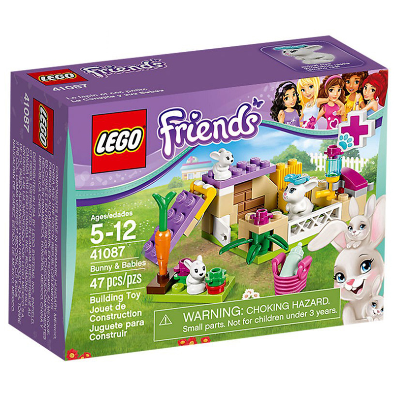 Do choi Lego 41087  - Tho me Bunny va tho con