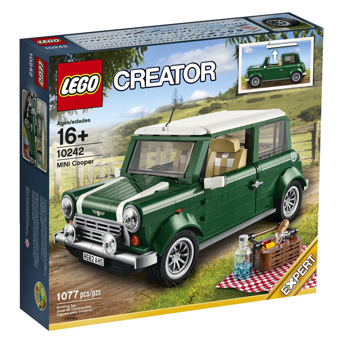 Do choi LEGO 10242 Mini Cooper MK VII
