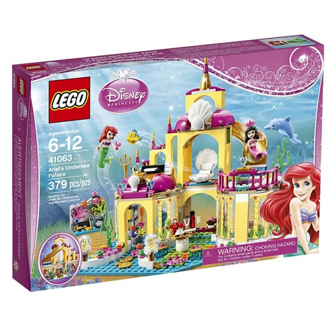 Do choi Lego - Cung dien duoi bien cua nang tien ca