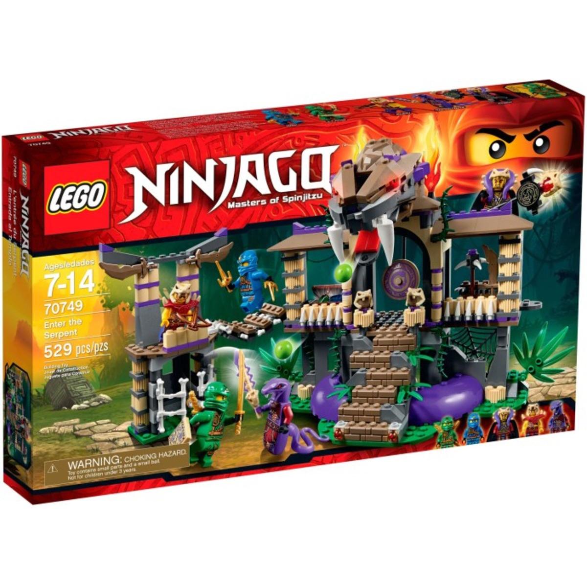 Lego Ninjago 70749 – Xam nhap hang ran