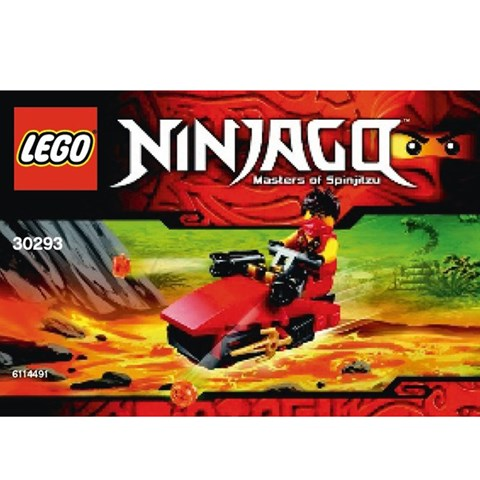 Do choi LEGO Ninjago 30293 - Cano Cua Kai