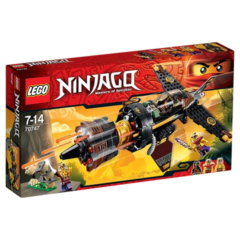 LEGO Ninjago - Phi thuyen da 70747
