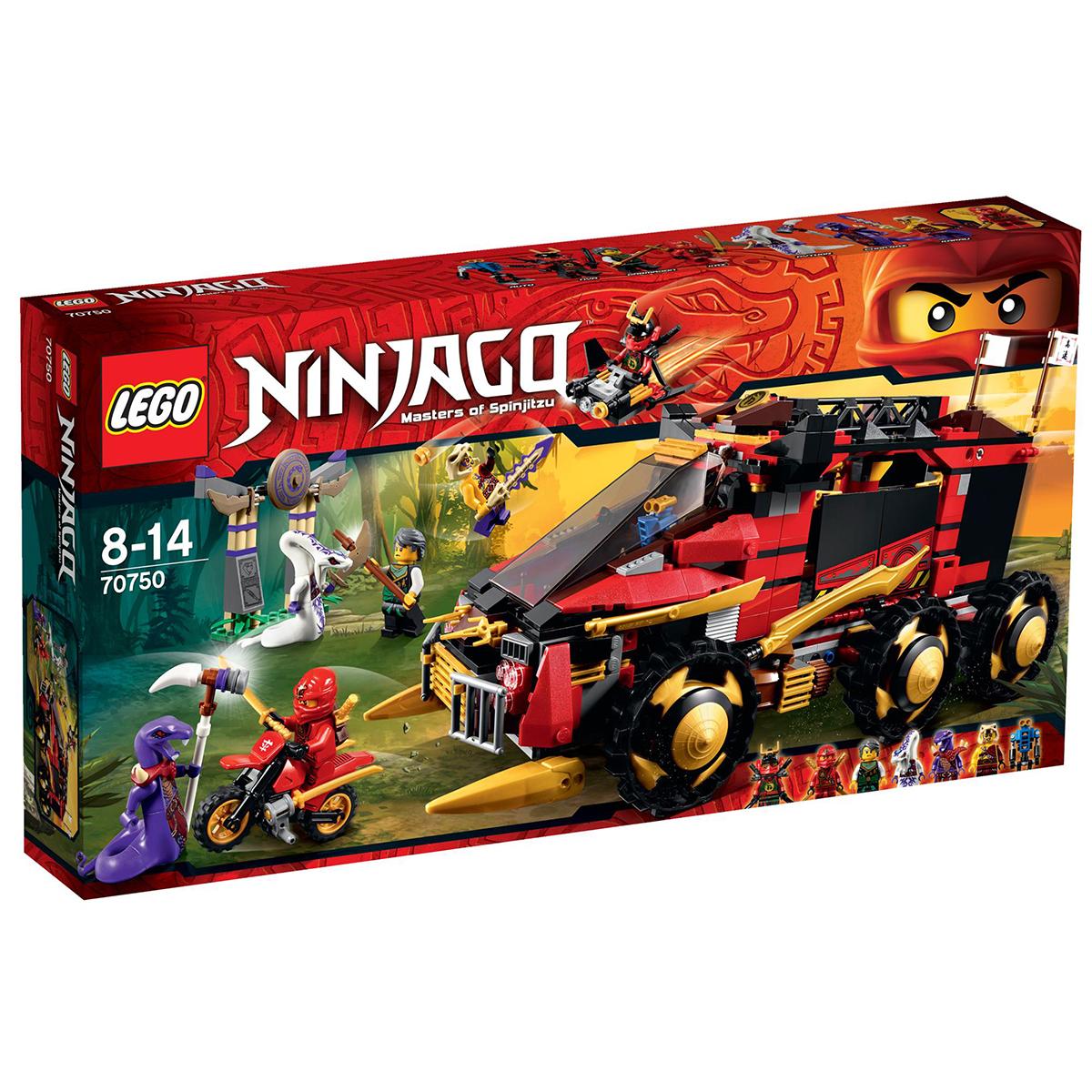 Lego Ninjago 70750 – Xe chien dau Ninja DBX