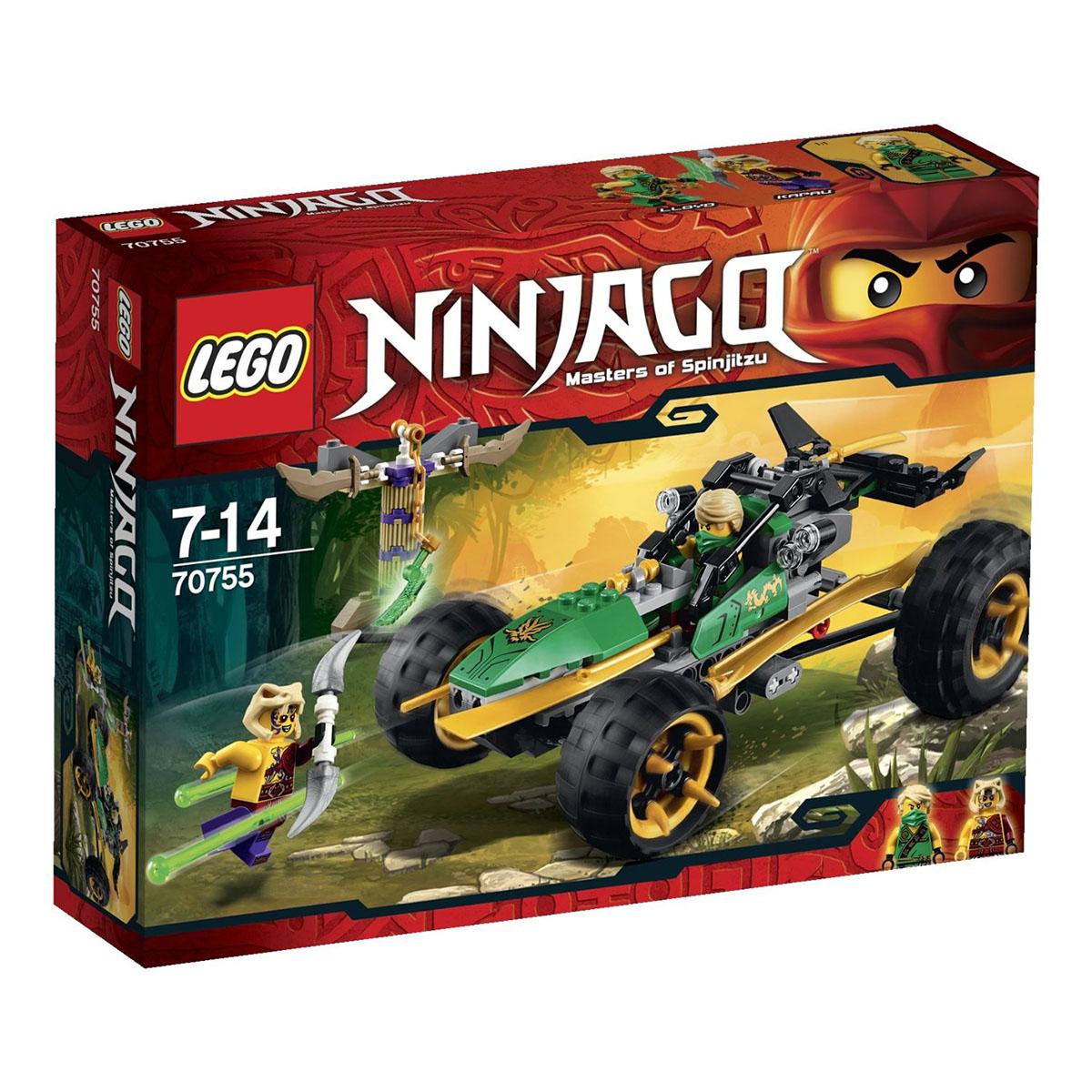 Mo hinh LEGO Ninjago - Biet doi rung 70755