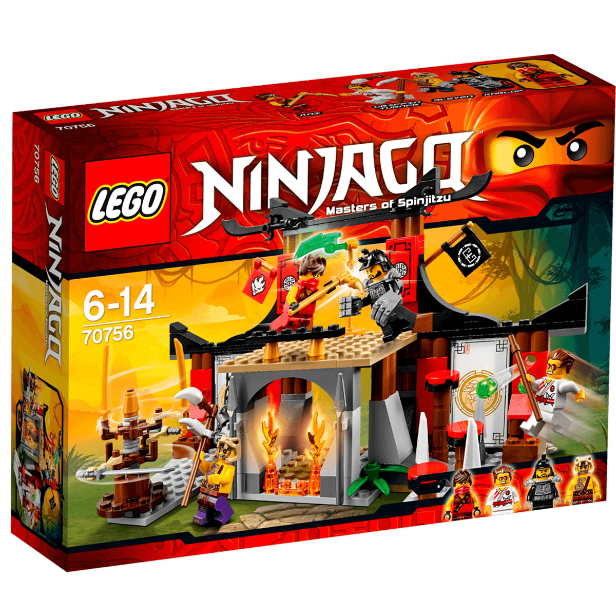 Mo hinh LEGO Ninjago – Vo duong Ninja
