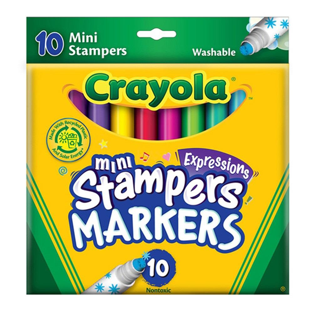 But long Crayola - 5881400004 - 10 mau hinh tem dau